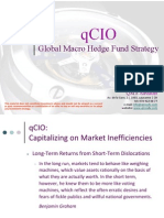 qCIO Global Macro Hedge Fund Strategy (September 2011)
