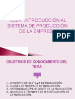 Sistemas de Produccion-logistica Industrial