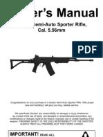 Golani Semi-Auto Sporter Rifle