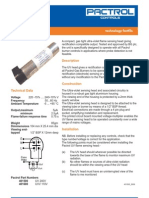 Pactrol UV Flame Detector