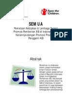 Pemetaan Kebijakan Promosi ASI - Save the Children & AIMI (SEMUA)