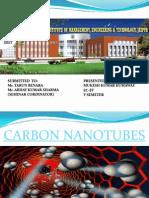 Final Ppt of Carbon Nanotubes