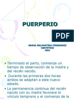 PUERPERIO CLASE