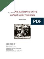 19. Un Debate Imagimario Entre Carlos Marx y Bakunin Mauric