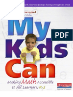 My Kids Can Making Math Accessible to All Learners