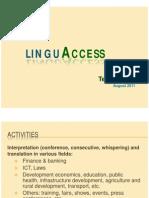 LinguAccess Team Profile_29Aug11 (Website)