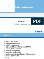 Oracle11g New Features TL Meeting