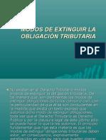 MODOS de Extinguir La Obligacion Tri but Aria