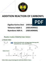 Addition Reaction of Carbonyl