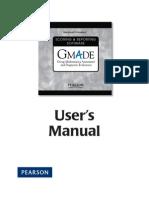 Gmade Manual