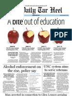 The Daily Tar Heel for September 16, 2011