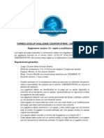 Ciberdeportes - Reglas Levelup Challenge