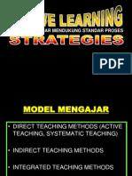 Strategi Pembelajaran Aktif-PAPARAN