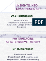 Herbal Drug Research