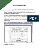 Laboratorijski protokol