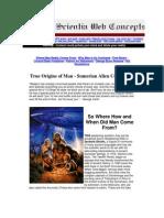 Origins of Humans --- The Sumerian Alien Connection