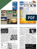 "Kuta Weekly-Edition 250 ""Bali""s Premier Weekly Newspaper"""