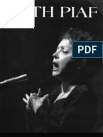 Edith Piaf - Livre D'Or