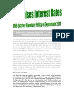 RBI Raises Interest Rates-VRK100-16Sep2011