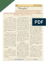 "Psalm 131 v1, ""Haughty"""