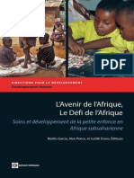 L'Avenir de l'Afrique, Le Défi de l'Afrique