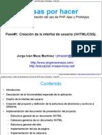 Taller de demostración del uso de PHP, Ajax y Prototype - Paso #1