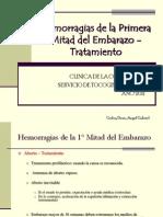 Clase 16 - Hemorragias 1 Mitad Tto