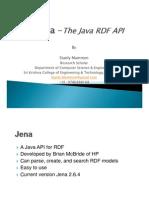 Jena Rdf API