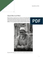 Digital Black and White Tutorial
