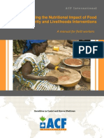 ACF 2011 Maximising the Nutritional Impact of FSL Interventions