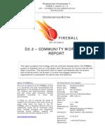D2.2 Community Workshop Report