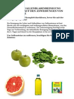 Diät zur Reinigung von Leber und Dickdarm