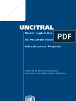 Model Legislative Provisions on Privately Financed Infrastructure Projects