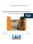 ACF 2010. Climate Change, Humanitarian Crises and Undernutrition