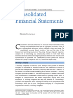 Parab (2011) Financial Statement Analysis 01 Consolidated Financial Statement Theory