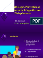 Hypothermie Perioperatoire