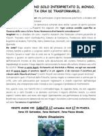 Volante Situazionista Prc Modena al Festival Della Filosofia