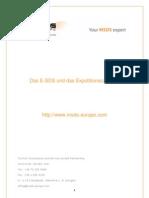 Das E-SDS und das Expositionsszenario
