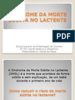 SINDROME DA MORTE SÚBITA NO LACTENTE