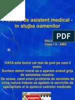 profesia de asistent medical