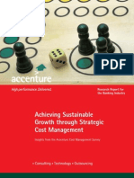 Accenture Banking Cost Management Survey