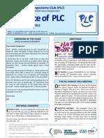 The Voice of PLC 1108-09