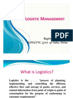 Logistic Management 16-09-2011 (by Geeta Kumari)