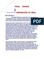 The Industrial Finance Corporation of India Limited