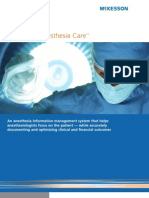 Drive Clinical and Financial Performance with McKesson Anesthesia Care