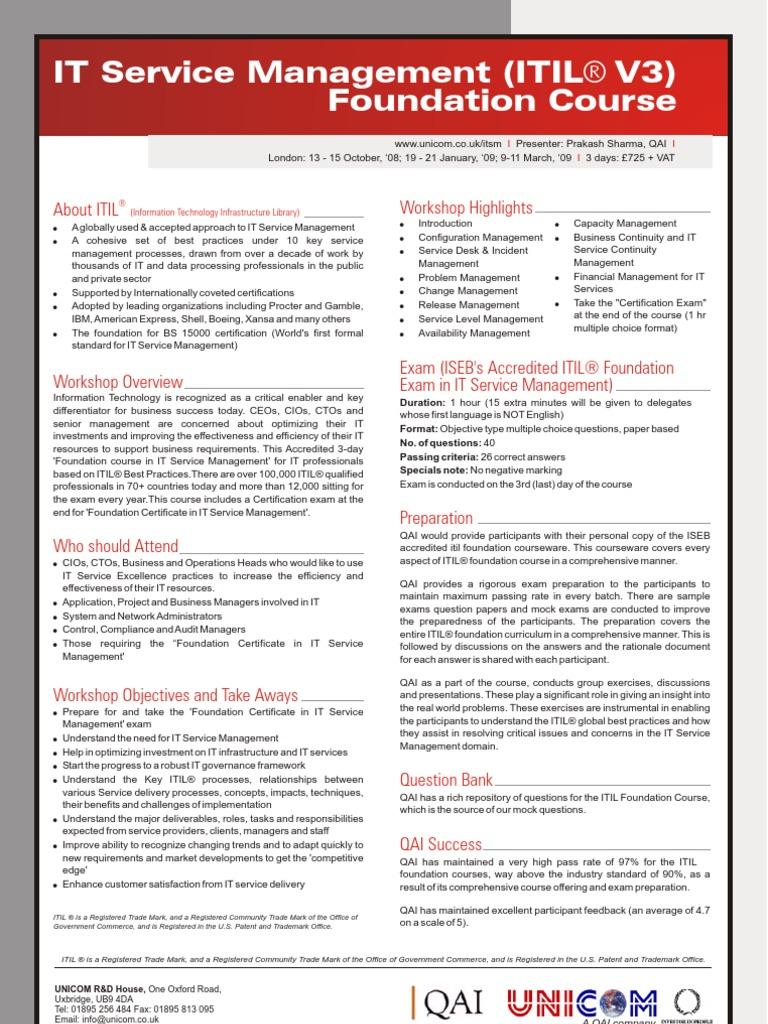 Itil foundation itil it service management xflitez Gallery