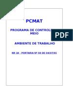 PCMAT  OBRA modelo