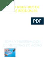 Toma y Preservacion de Muestras de Aguas