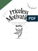 Baudville Priceless Motivation Employee Recognition eBook