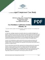 Centrifugal Compressor Case Study